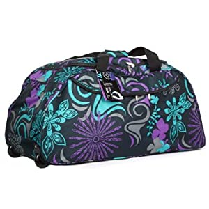 Extra Large 33 Inch Wheeled Holdall Bag (Zodiak Silk)