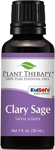 Clary Sage Essential Oil. 100 ml (3.3 oz). 100% Pure, Undiluted, Therapeutic Grade.