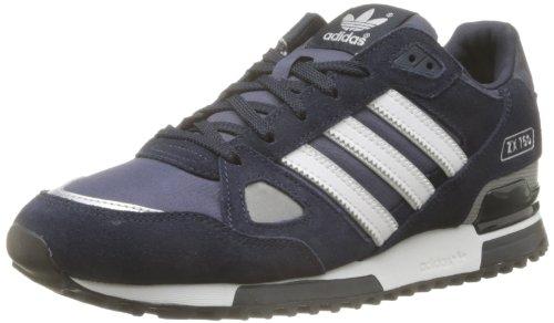 Adidas Zx 750, Scarpe sportive, Uomo, (Navy blue-White), 42 1/9
