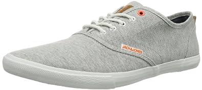 JACK & JONES JJ SPIDER JI ORG 12065507, Herren Sneaker, Grau (Light Grey Melange), EU 40