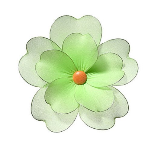 Green Multi Layered Daisy Flower Decorations