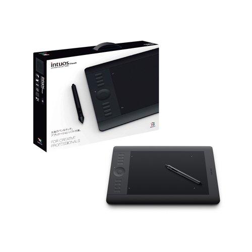 Wacom プロフェッショナルペンタブレット Photoshop Elements10付属 Mサイズ Intuos5 touch PTK-650/K1