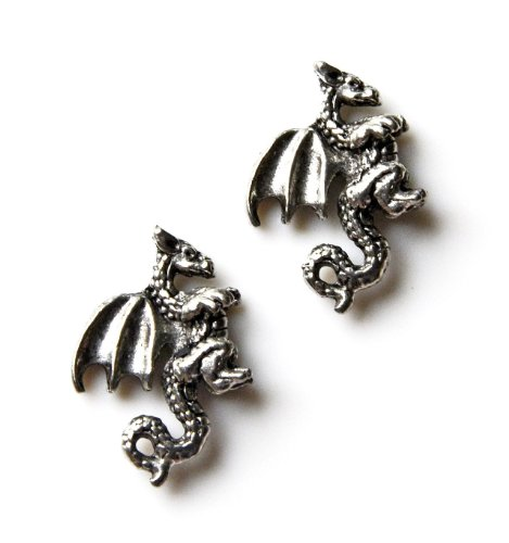 Dragon Cufflinks, Stocking Stuffers, Gift Ideas For Men, Gift Box Included