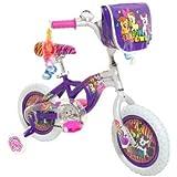 Dynacraft 8008-01TJ My Little Pony Girls Bike, 12-Inch, Purple/Pink/Silver