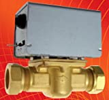 Two port zone valve 22mm Compression fitting 2 Port