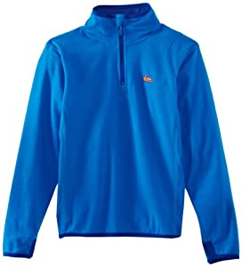 Quiksilver Boy's Rocky HZ Snow Polar Fleece - Blue, 16 Years