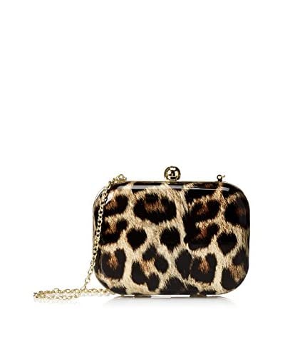 Jessica McClintock Women's Evening Minaudiere, Leopard