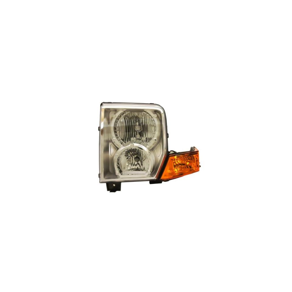 Genuine Chrysler Parts 55396537AI Driver Side Headlight Lens/Housing