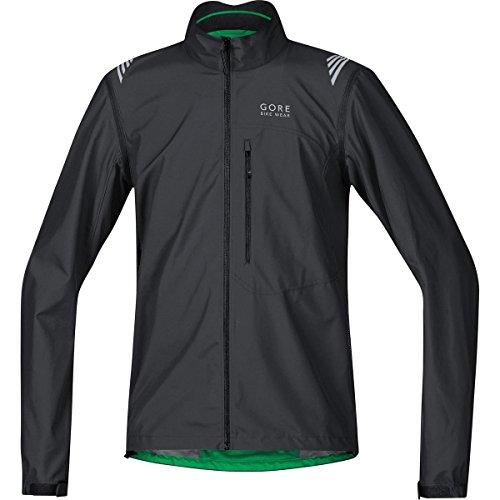 GORE BIKE WEAR, Giacca ciclismo Uomo, Leggera, Maniche staccabili, GORE WINDSTOPPER Active Shell, ELEMENT WS AS Zip-Off Jacket, Taglia XL, Nero, JWAELM990006