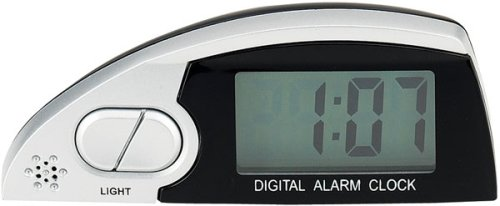 Bell Automotive 22-1-37034-8 Lighted Alarm Clock