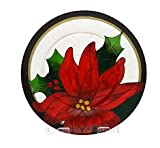 Yankee Candle Red Poinsettia Large Tray