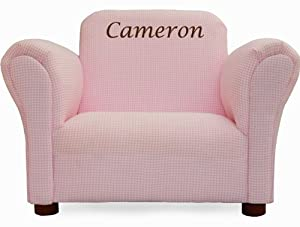 Amazon Com Little Furniture Upholstered Personalized Kids