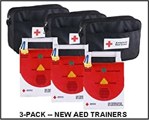 AED Trainer Sale (3-Pack) - Brand-New AED Trainers (CPR/AED Training Device)