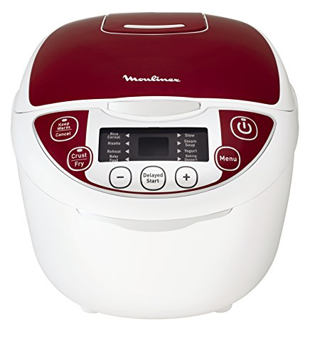 Moulinex-MK705111-Multikocher-12-in-1-Rot-5-l