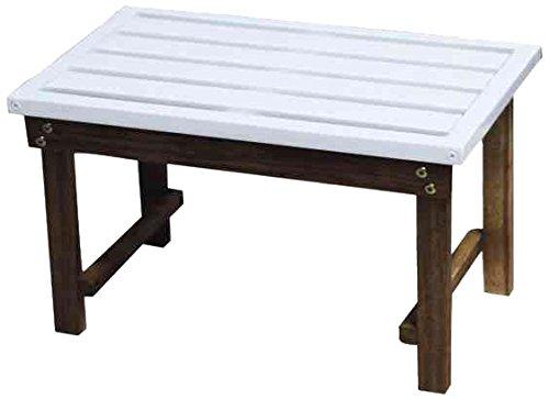 Siena Mybalconia 989876 Modular Satztisch Gestell Akazie FSC® 100% geölt Flächen Akazie FSC® 100% weiß lackiert