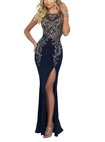 KISSBRIDAL-Womens-Sleeveless-High-Slit-Prom-Dresses-Long-Formal-Party-Prom-Gown
