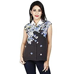 LALANA Multicolor Floral Print Polyester Shirt