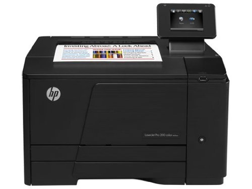 HP LaserJet Pro 200 M251w ePrint Farblaserdrucker (A4, Drucker, Wlan, Ethernet, USB, 600x600)