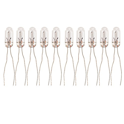 HOTSYSTEM T5-12v 95ma Car Mini Bulbs Lamps Indicator GM GMC Cluster Speedometer Backlight Lighting 10-Pack (Gm Instrument Cluster Bulbs compare prices)