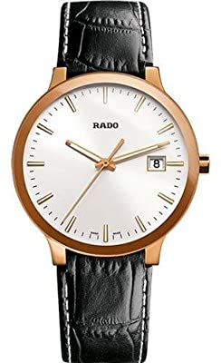Rado R30554105 Watch Mens - White Dial Stainless Steel Case Automatic Movement