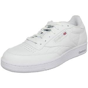 Reebok Men's Club C Classic Sneaker,White/Sheer Grey,10 M US