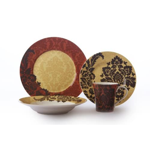 222 fifth la belle 16 piece spice dinnerware for 222 fifth dinnerware