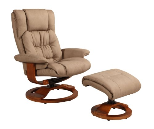 Swivel Recliner And Ottoman front-1062965