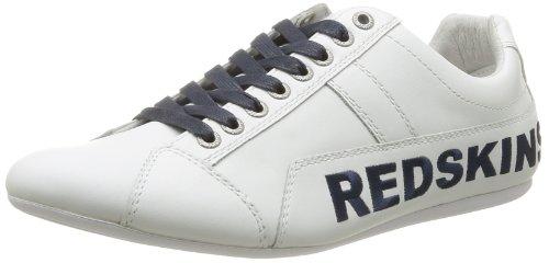 Redskins  Toniko,  Sneaker uomo Bianco Blanc (Blanc/Marine) 42