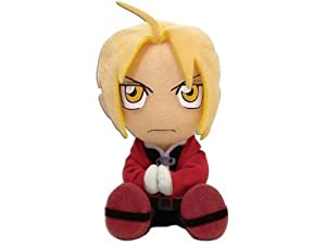 Great Eastern Entertainment Fullmetal Alchemist Edward Sitting Pose Plush