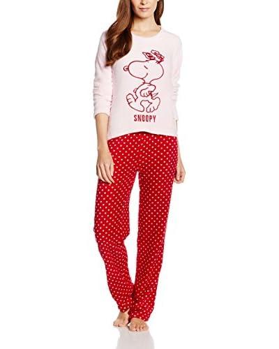 Licencias Pijama Rojo / Rosa