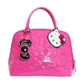 Hello Kitty Pink Embossed Tote Bag