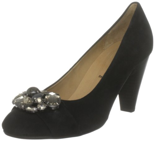 Gabor Women's Acoustic Black Platforms Heels 31.301.17 4.5 UK