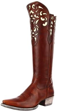 Ariat Women's Hacienda Boot,Vintage Carmel,6 M US
