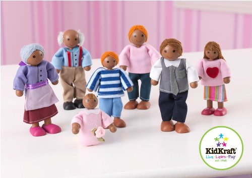 KidKraft Doll Family of 7 African American kidkraft doll family of 7 african american