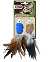 KONG Naturals Crinkle FISH Toy (CW44)