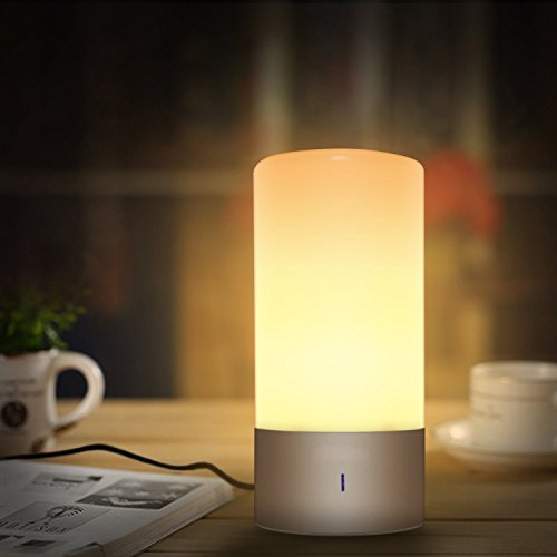 Number One Bedside Lamp Touch Sensor Led Night Light With