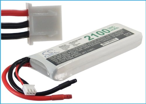 7.4V 2100mAh 30C RC Battery For Airplane, Helicopter, Racing Car, Scale Boat
