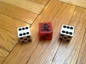 Monopoly Red Speed Die Set (3 Pieces) - 1