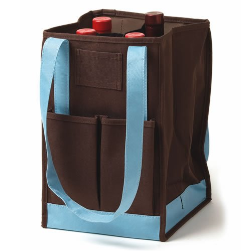 Earth And Sky 4 Bottle Wine Carrier