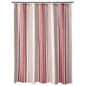 Target Home Rose Striped Shower Curtain 72 X 72