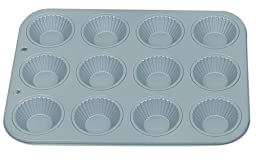 Fox Run Non-Stick Ribbed Tart/Muffin Pan