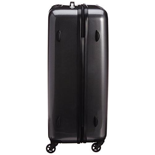 [ワールド トラベラー] World Traveler アマゾン限定 ACEコラボ特別企画 ペンタクォーク ストッパー付スーツケース69cm・4.6kg・86リットル・TSAロック搭載・預け入れサイズ 05663 02 (ブラックカーボン)