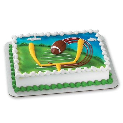 Decopac Extreme Football Magnet DecoSet Cake Topper - 1
