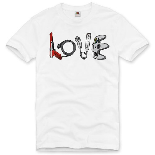 style3 LOVE T-Shirt Herren super