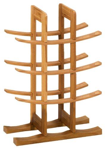13580 Weinregal, Bamboo / 29 x 16 x 42