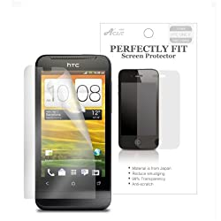 Acase AcaseView - HTC One X S720E Screen Protector Premium Clear LCD Cover Guard Shield Protective Film Kit (3 Packs) Works for AT&amp;T LTE and International