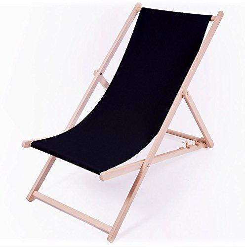 Holz-Liegestuhl-schwarz-stabile-Strandliege-3-fach-hhenverstellbar-mit-Sicherheitsbgel-Schwarz