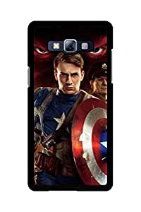 Caseque The Sion Captain America Back Shell Case Cover For Samsung Galaxy A5