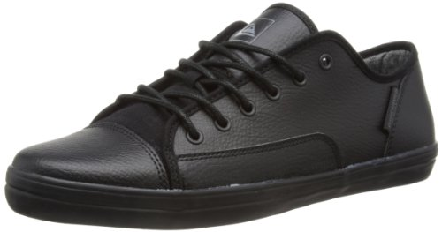 Quiksilver Mens Ballast Low-Top KTMSL112 Black/Black Gum 5 UK, 39 EU