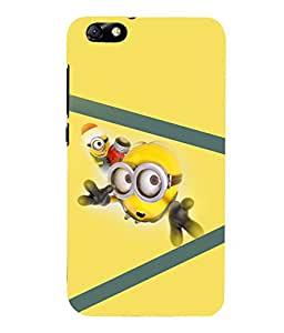 printtech Minions Back Case Cover for Huawei Honor 4X::Huawei Glory Play 4X